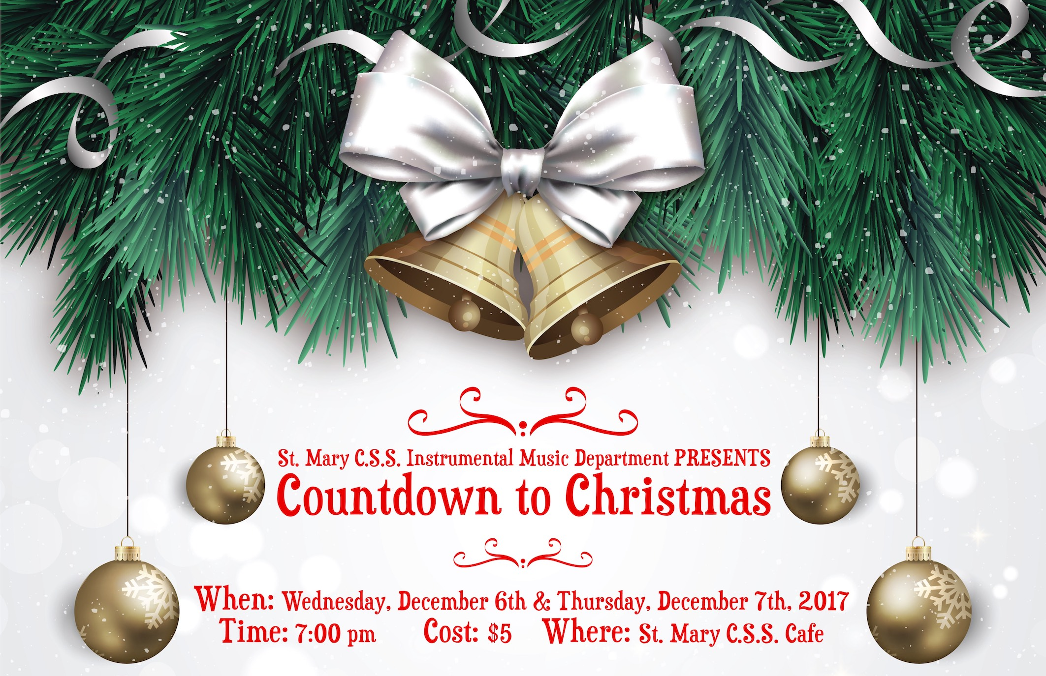 Christmas 2017 Instrumental Music Concert