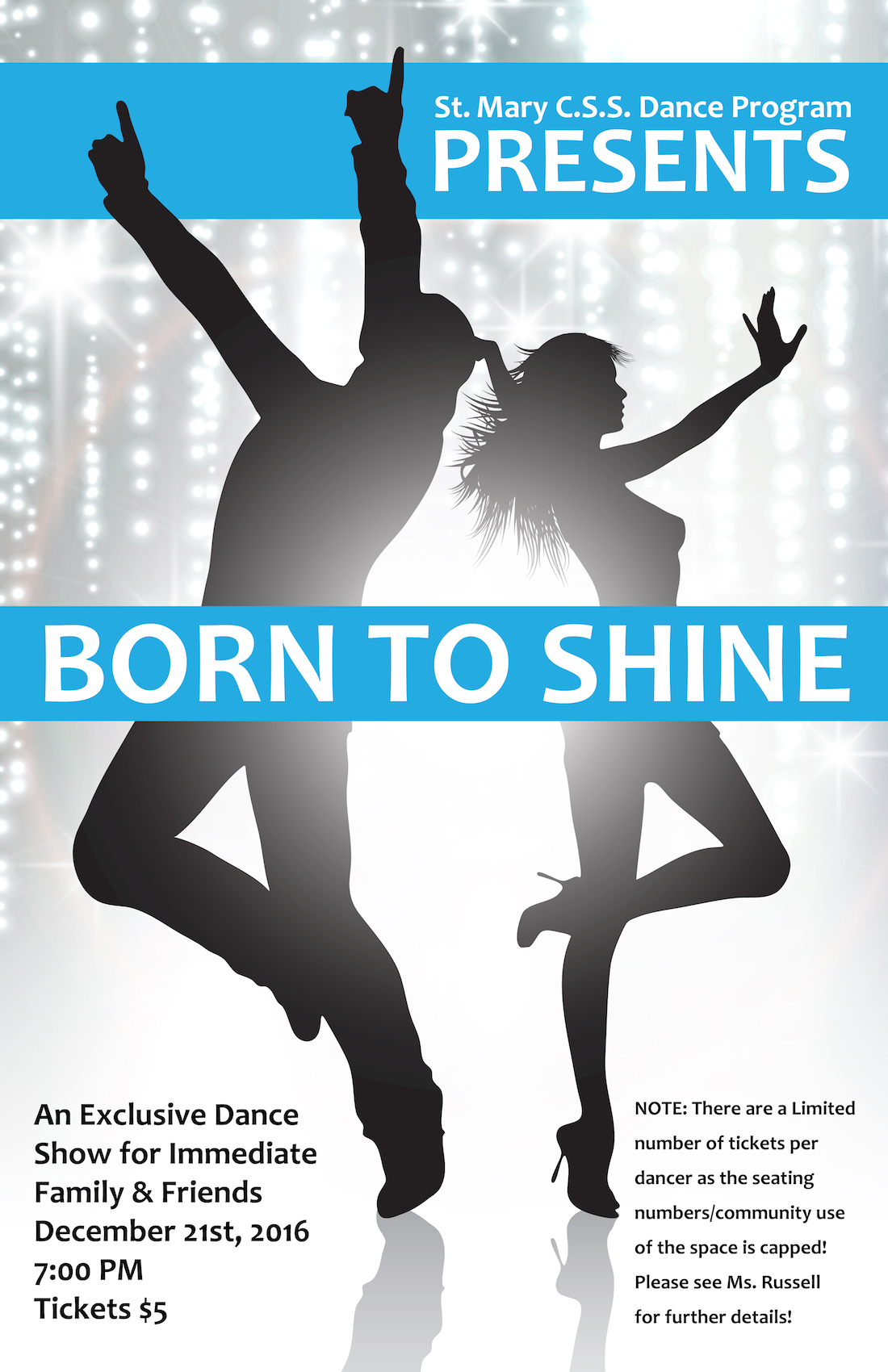 Born to Shine Dec 2016